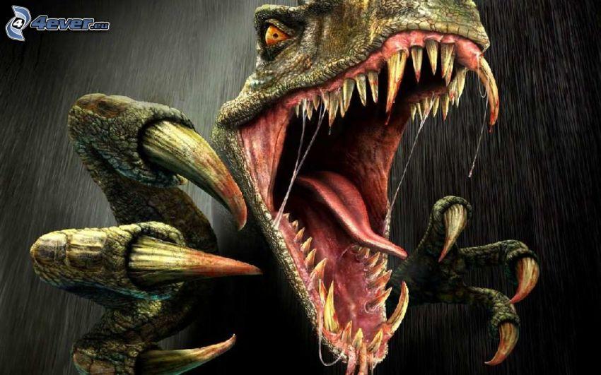 Turok, Tyranosaurus