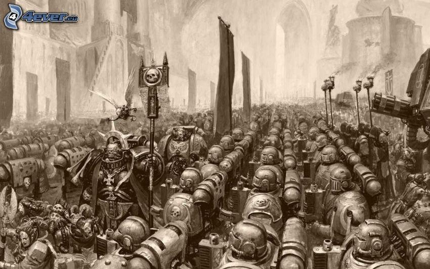 Warhammer, armáda