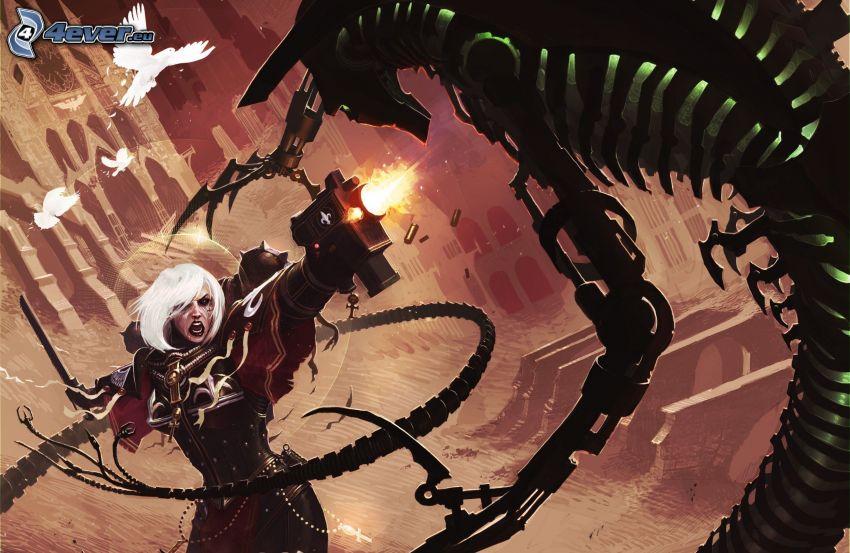 Warhammer, súboj