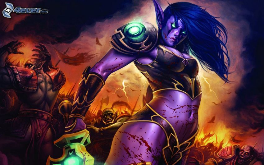 World of Warcraft, elfka