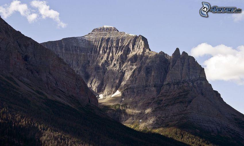 Chief Mountain, skalnatá hora