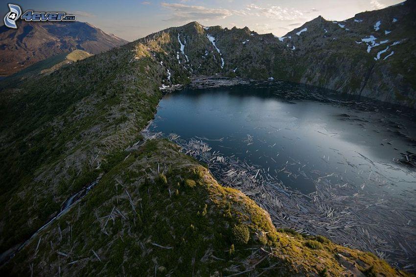 Saint Helens, jazero