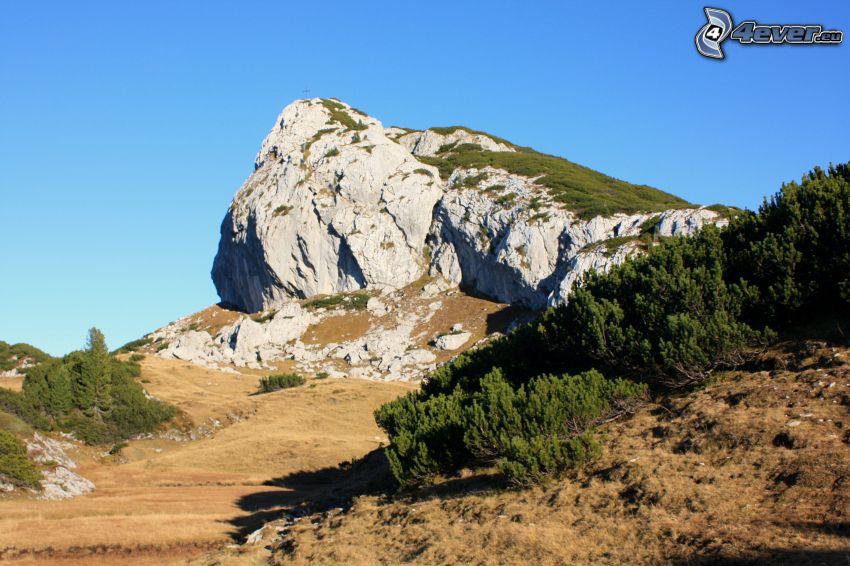 Totes Gebirge, skala