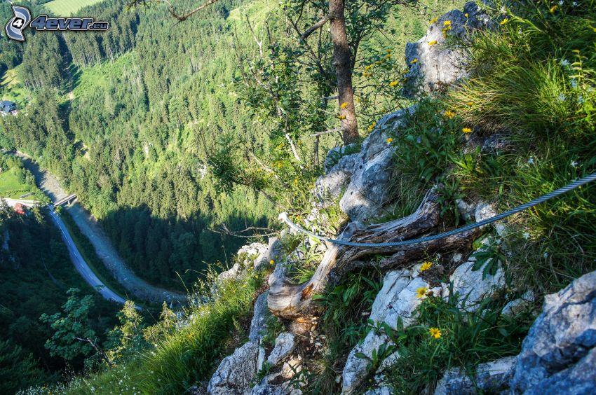 Totes Gebirge, útes, cesta