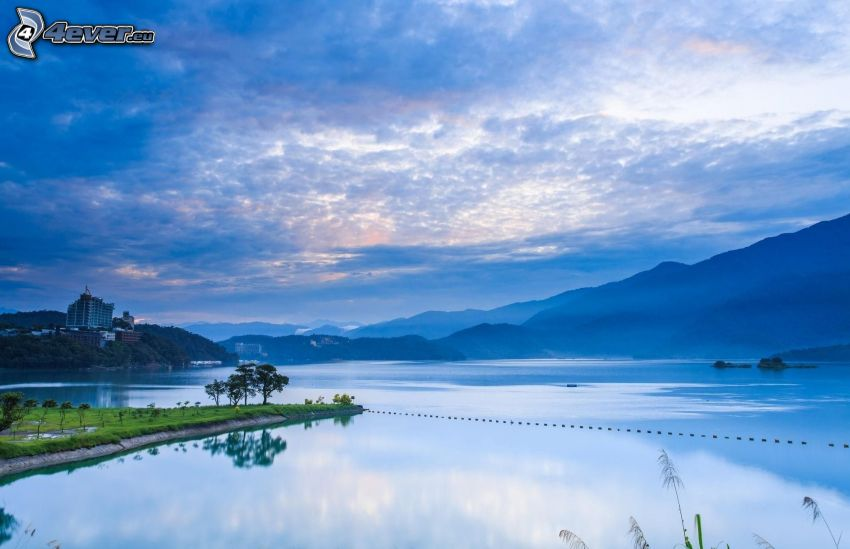 jazero, Taiwan
