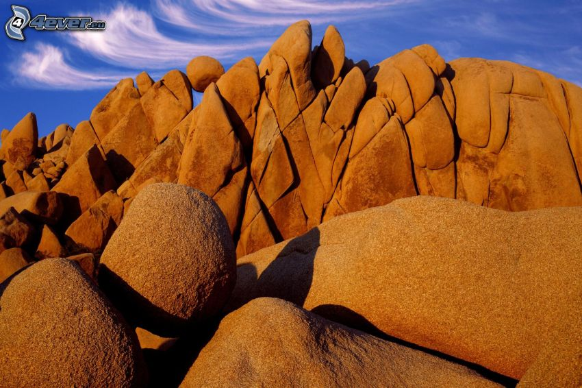 Joshua Tree National Park, skaly