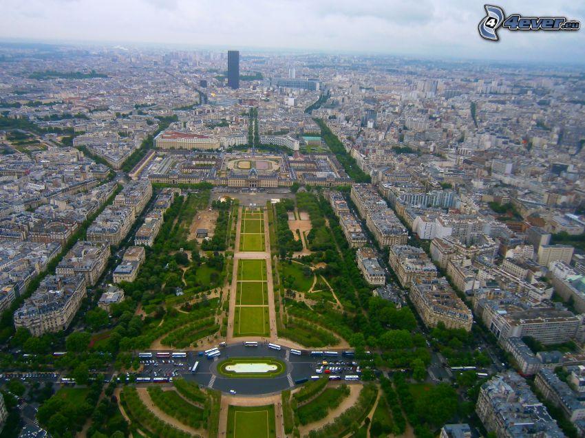 Paríž, Francúzsko, výhľad na mesto