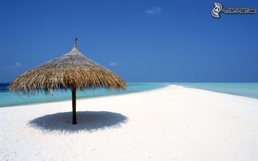 altánok, pláž, more