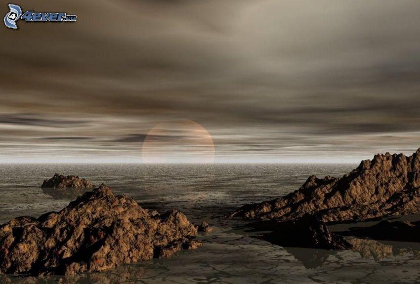 skaly v mori