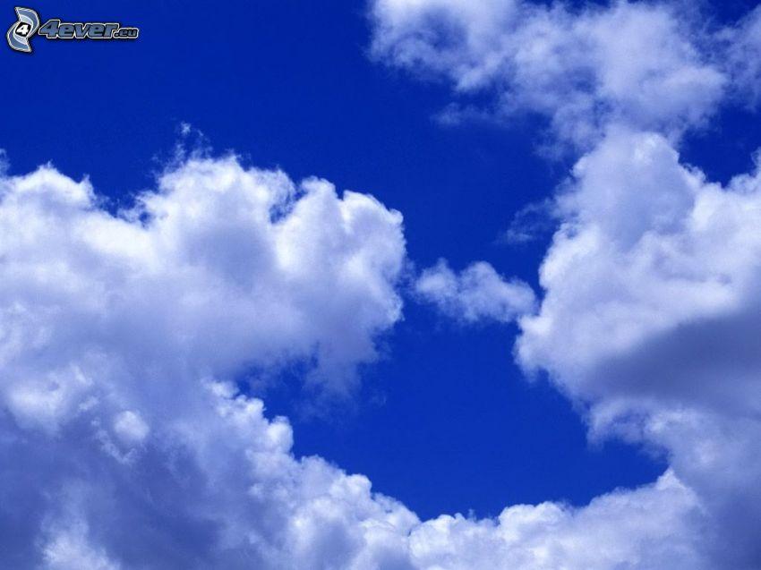 obloha, oblaky