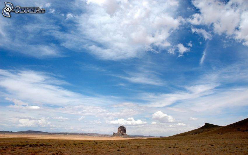 púšť, skala