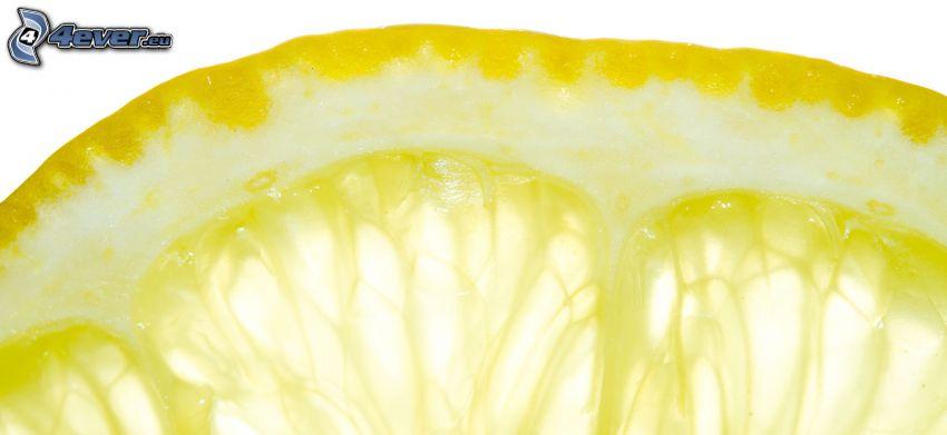 plátky citrónu