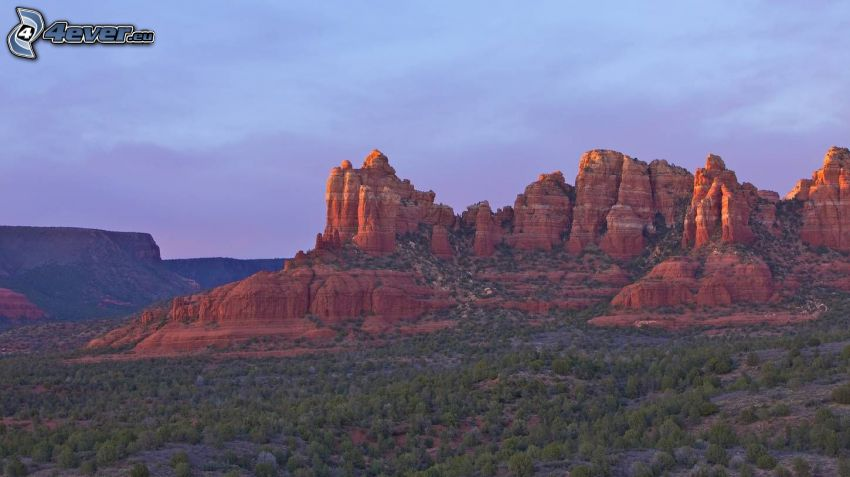 Sedona - Arizona, skaly