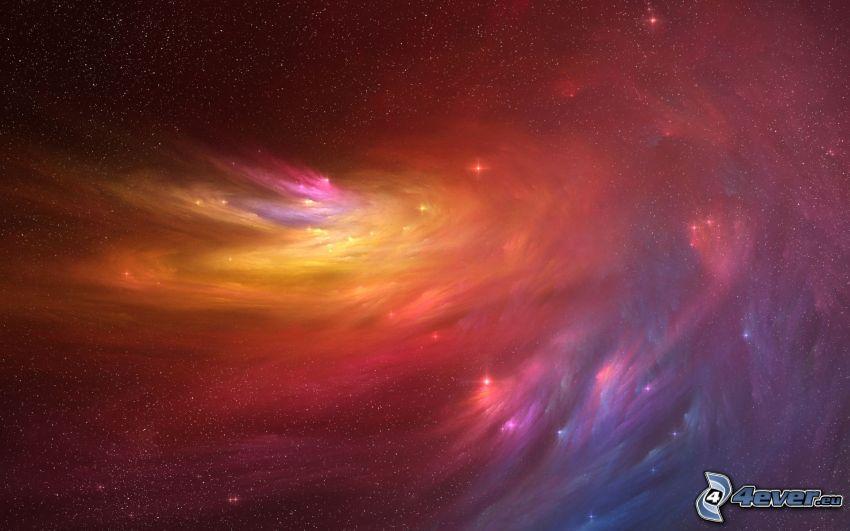 farebná hmlovina