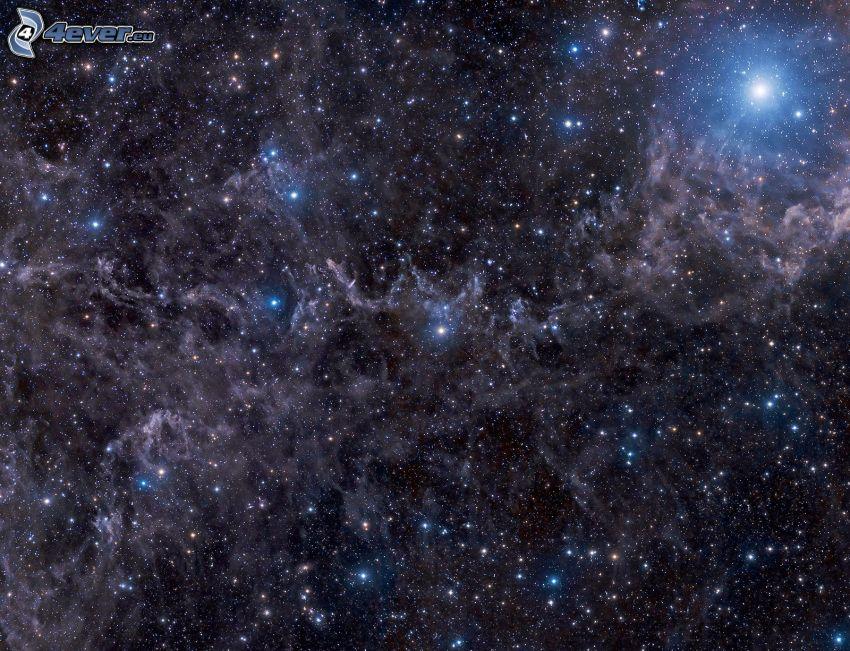 hviezdy, hmloviny