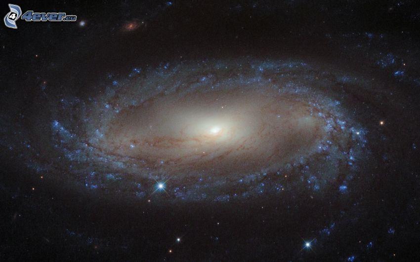 M66, špirálová galaxia