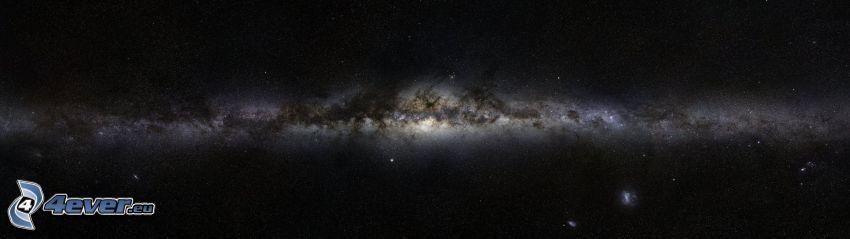 Mliečna cesta, panoráma