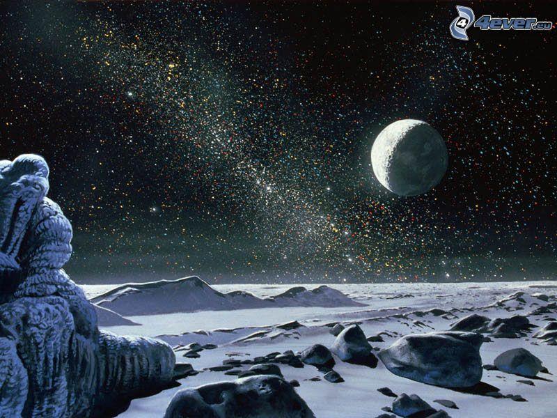 planéta, hviezdy, vesmír