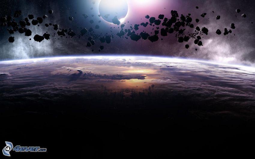 planéty, pás asteroidov