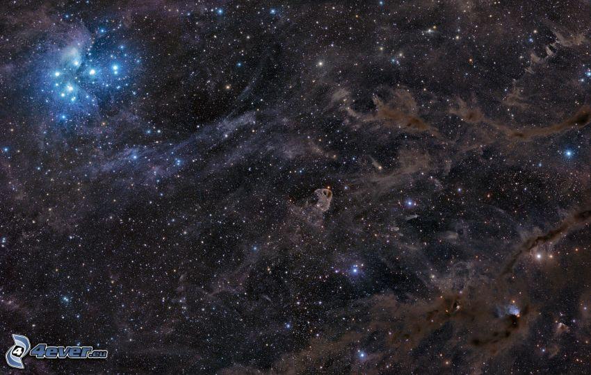 vesmír, hviezdy, galaxie