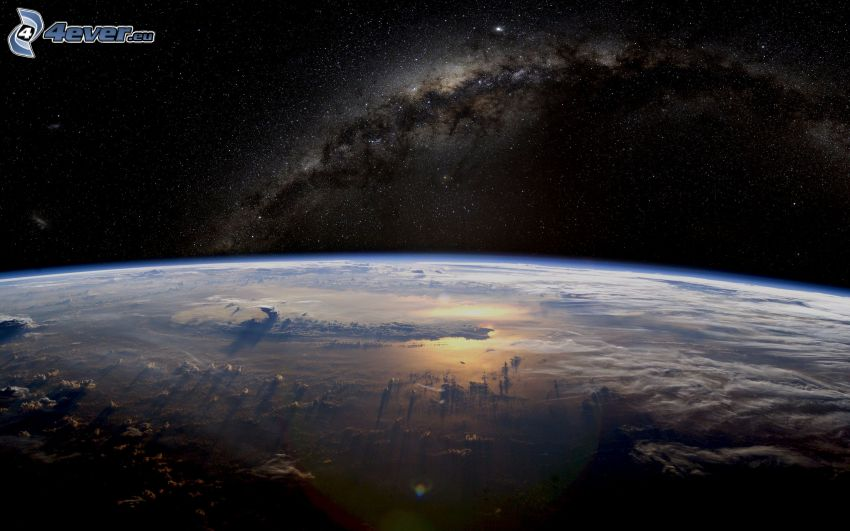 Zem, Mliečna cesta