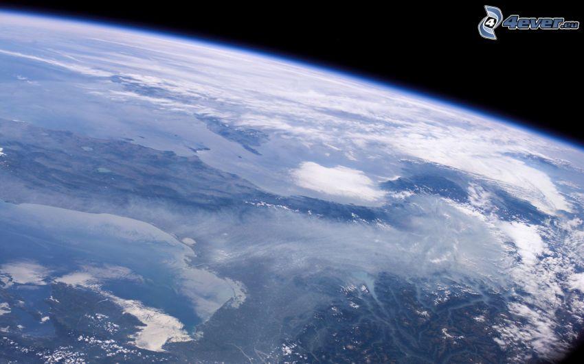 Zem, pohľad z vesmíru
