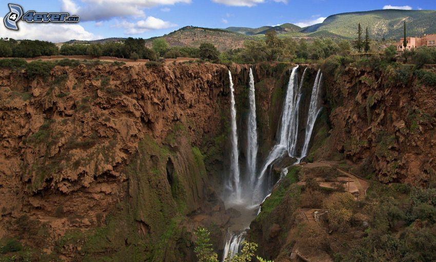 vodopády, Maroko