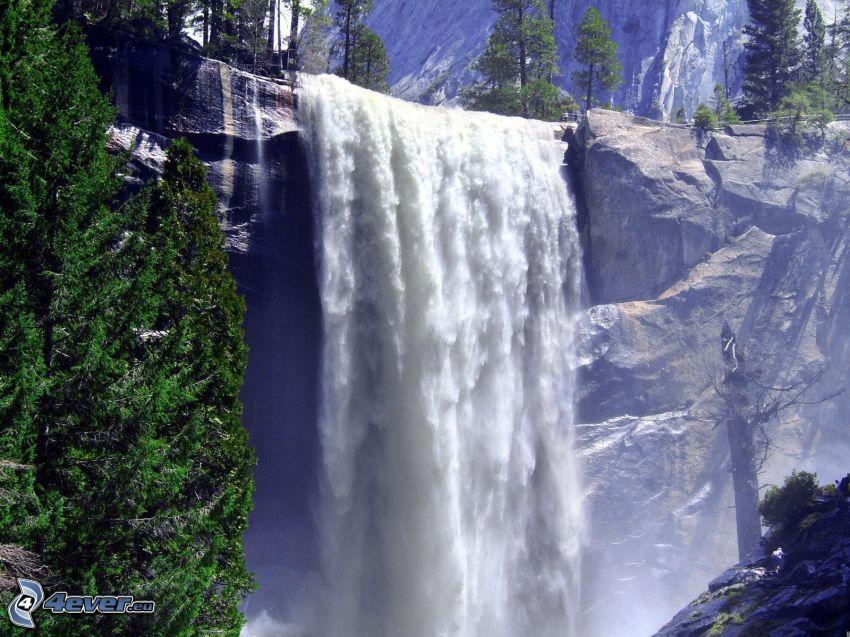 vodopády, Yosemitský národný park