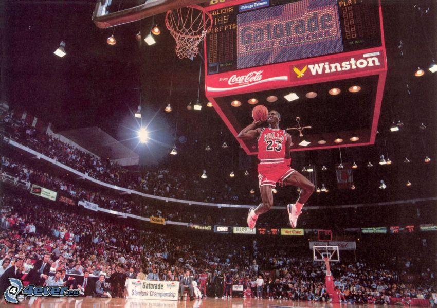 basketbal, skok