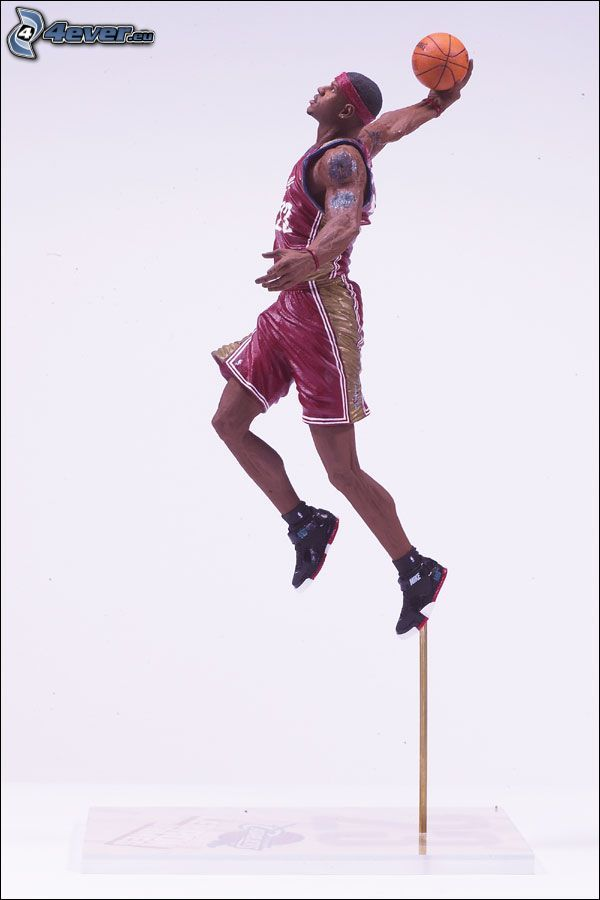 basketbalista, model