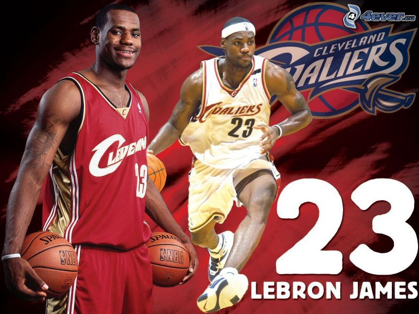 LeBron James, basketbal, Cleveland Cavaliers, NBA
