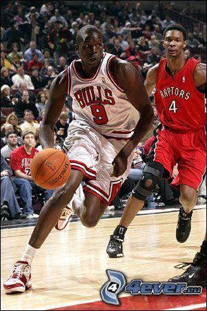 Luol Deng, Chicago Bulls, NBA, basketbalista, basketbal
