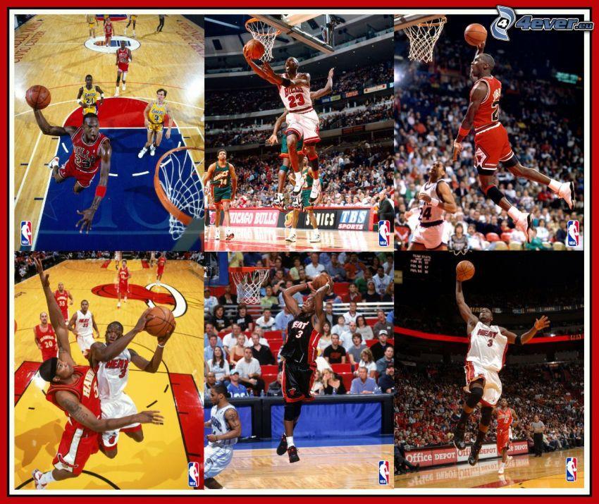 Michael Jordan, Chicago Bulls, Dwyane Wade, Miami Heat, NBA