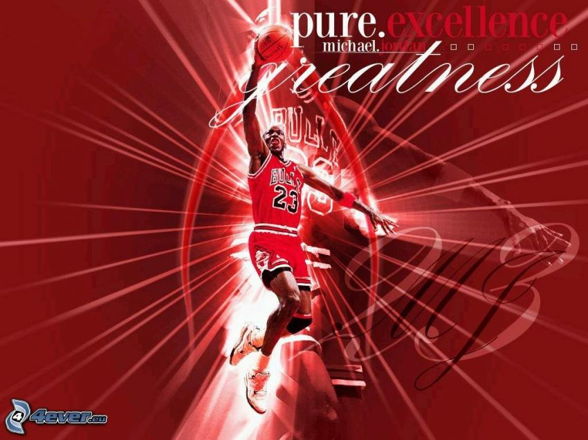 Michael Jordan, kreslené