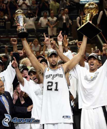 Tim Duncan, NBA, pohár
