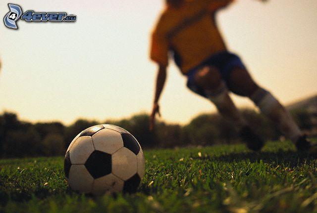futbal, lopta, hráč
