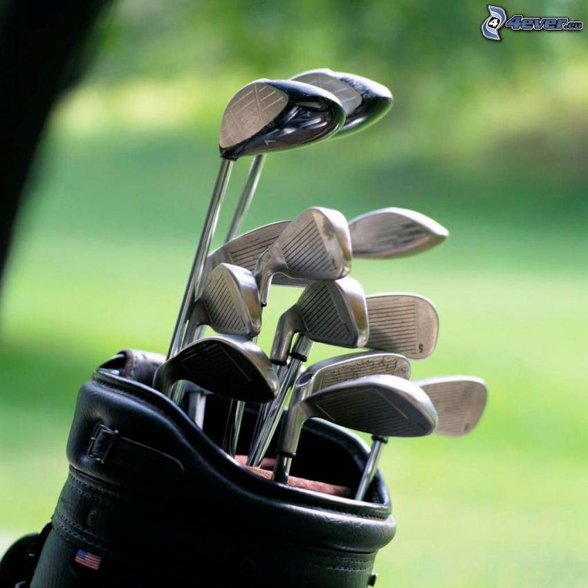 golfové palice
