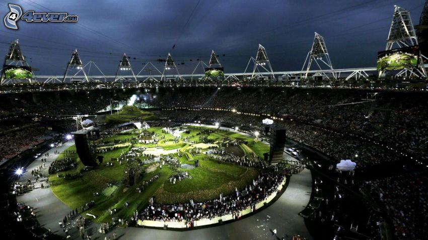 olympijský štadión, Olympijské hry, Londýn 2012