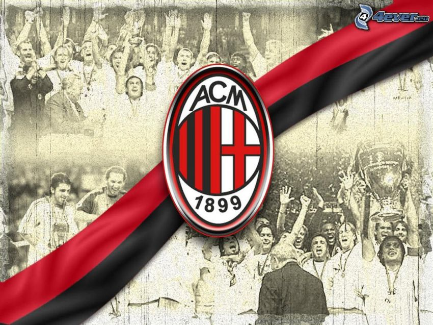 AC Miláno, futbal, logo