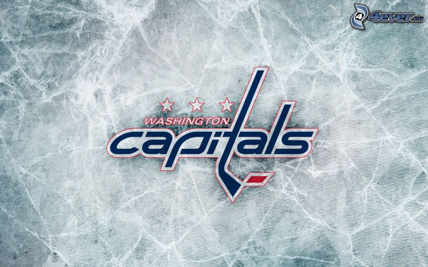Washington Capitals, NHL, hokej, logo