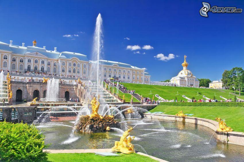 fontána, Petrohrad