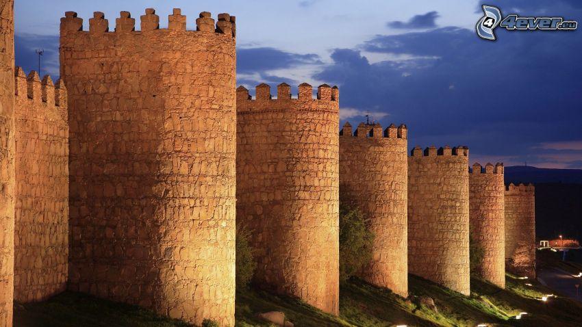 Ávila, hradby