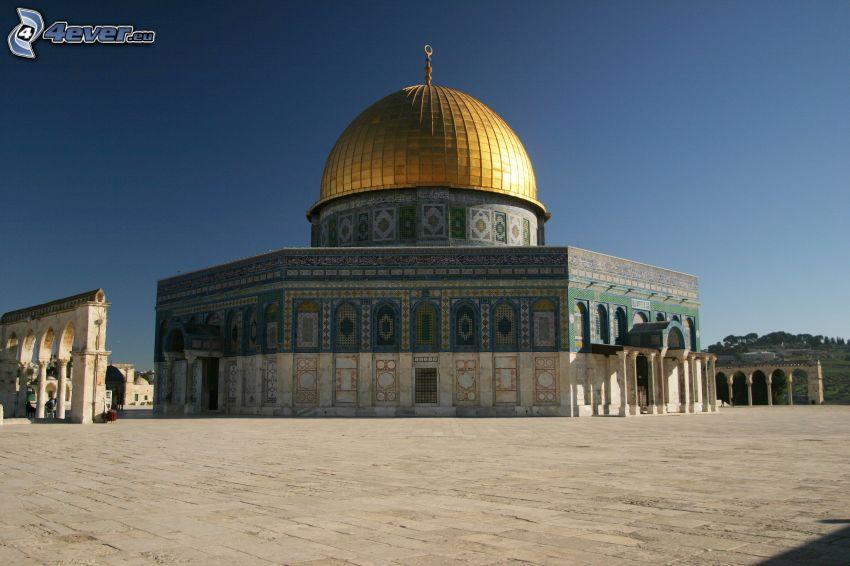 Dome of the Rock, námestie, Jeruzalem