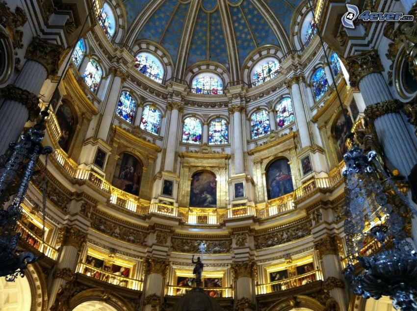 Granada Cathedral, strop, klenba