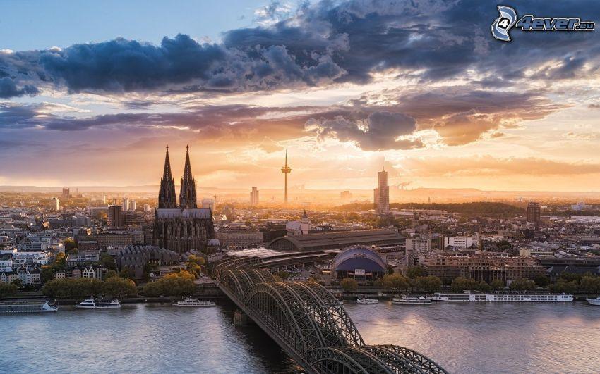 Kolín nad Rýnom, Kolínsky dóm, Hohenzollern Bridge