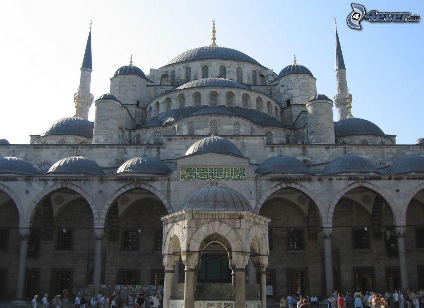Modrá mešita, Istanbul