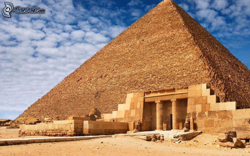 pyramída, Egypt