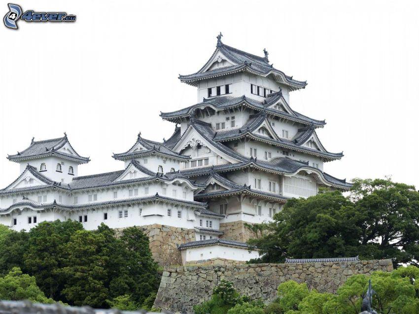 japonský dom, palác