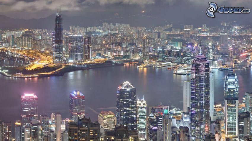 Hong Kong, mrakodrapy