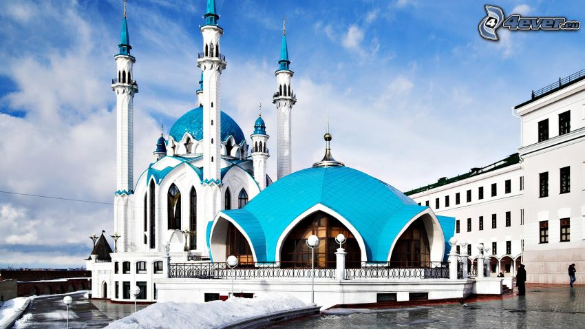 kostol, Rusko